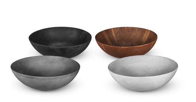 LoooX Ceramic Raw waskom keramiek Ø40cm Donker Grijs