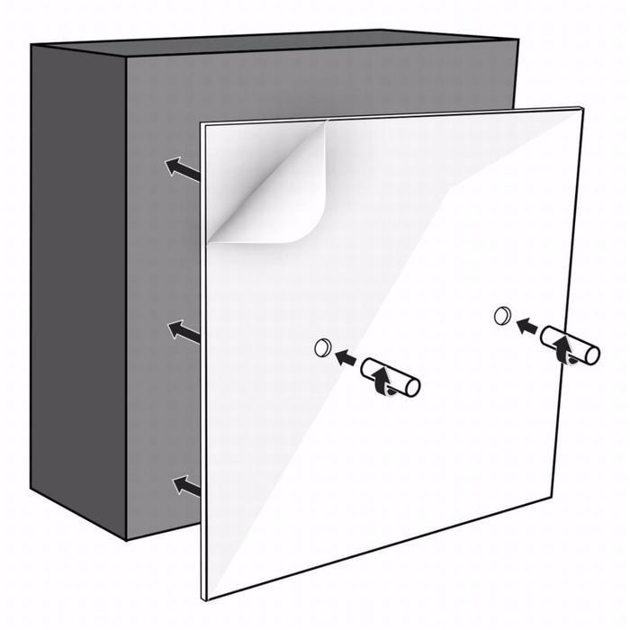 LoooX Colour Box montageset opbouw 15x30 cm