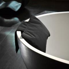 Decor Walther Loft NK badkussen met contragewicht zwart