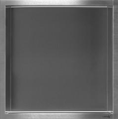 LoooX Box nis RVS geborsteld 30x30 cm / 7 cm diep