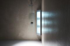 Sunshower Combi opbouw infrarood en UV lamp 145x30x20cm Wit/Zwart