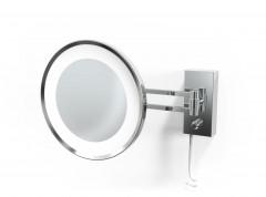 Decor Walther scheerspiegel Chroom wandmodel LED vergroting 3x/5x