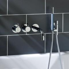 Vola inbouw badmengkraan met handdouche