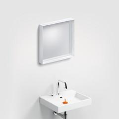 Clou Look At Me spiegel met glazen planchet 50x50cm