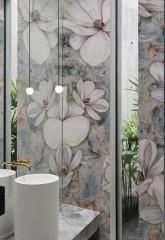 Wall & Deco Badkamerbehang Brillante